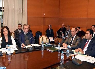 Le ministre de la Culture et de la Communication présente le projet de l'Agence MAP au Comité de l'éducation, de la culture et des affaires sociales à la Chambre des conseillers