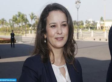 السيدة أفيلال تطلع بزاكورة على تقدم إنجاز مجموعة من مشاريع البنيات التحتية المائية