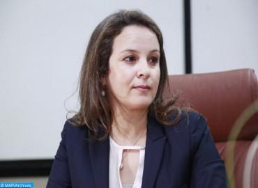 Mme Afilal participe à la 2ème Conférence internationale sur l'eau et le climat à Marseille