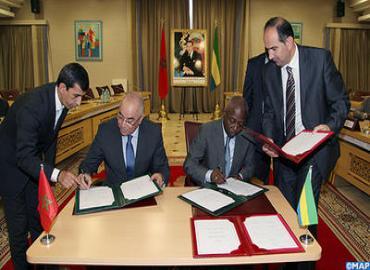التوقيع على اتفاقية للتعاون الأمني بين المغرب والغابون