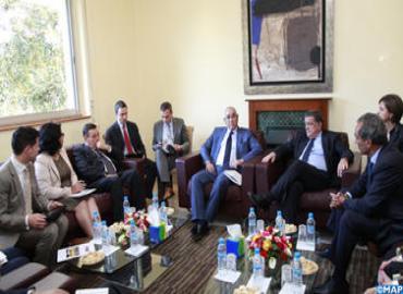 La comisión parlamentaria mixta Marruecos-UE presenta a Draiss el balance de su acción quinquenal