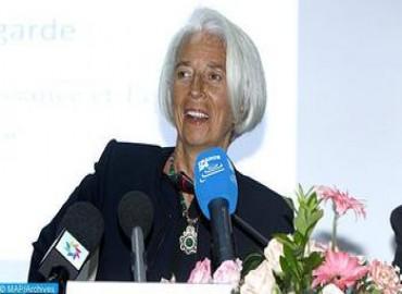 Christine Lagarde aplaude en Washington la diversidad de la cultura ancestral de Marruecos