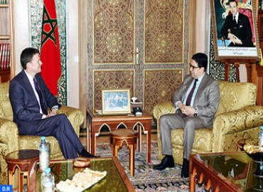 FM Receives New UNSG Special Representative and MINURSO Chief