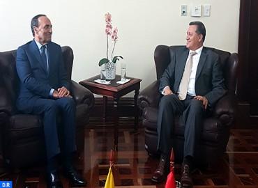 M. El Malki plaide à Bogotá pour des relations institutionnalisées avec le Congrès colombien