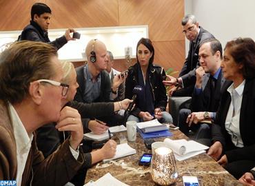 La Délégation de partis marocains : La Suède a donné des
