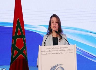 Conférence internationale sur l'eau et le climat à Rabat