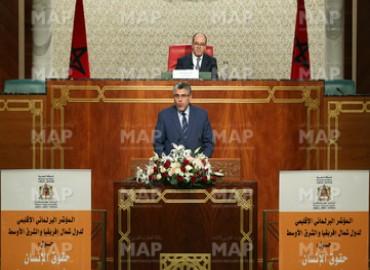 Ouverture à Rabat des travaux de la Conférence régionale sur les entreprises et les droits de l'Homme au Moyen-Orient et en Afrique du Nord