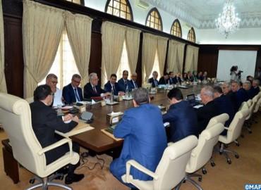 Réunion des travaux  du Conseil de gouvernement  du jeudi  12  juillet 2018
