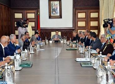 أشغال اجتماع مجلس الحكومة ليوم الخميس 05 أكتوبر 2017