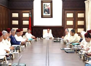 أشغال اجتماع مجلس الحكومة ليوم 16 ماي 2019