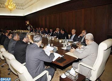 أشغال مجلس الحكومة ليوم الخميس 23 ماي 2013