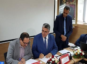 توقيع اتفاقيات شراكة بين وزارة الدولة المكلفة بحقوق الإنسان وفعاليات جمعوية