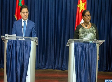 Minister of Foreign Meets his Peer from Suriname in Paramaribo