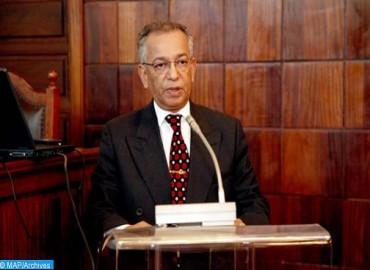 الرئيس المنتدب للمجلس الأعلى للسلطة القضائية، الرئيس الأول لمحكمة النقض، مصطفى فارس