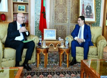 M. Bourita s'entretient avec le Secrétaire-adjoint du bureau des Nations-unies pour la lutte contre le terrorisme
