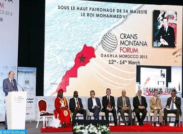 Crans Montana Forum - Dakhla 2017