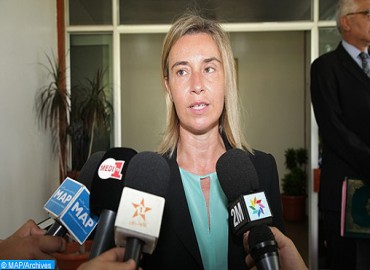 Mogherini Underlines Strategic Importance of Relations with Morocco
