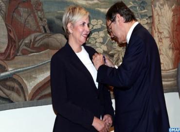 La marroquí Nezha Hayat condecorada por el Rey Felipe VI de España por su compromiso a favor de las relaciones económicas marroquí-españolas