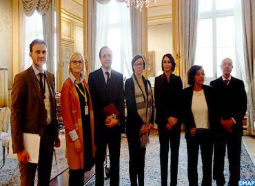 La délégation de partis de gauche rencontre à Stockholm la Secrétaire d'Etat suédoise aux AE