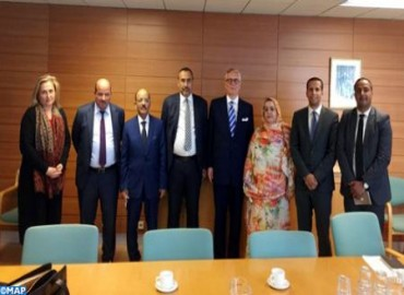A Delegation of Elected Representatives of Southern Provinces Meets Icelandic Officials