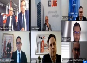 Polish Businessmen, Moroccan Southern Provinces CRI Directors Hold Talks