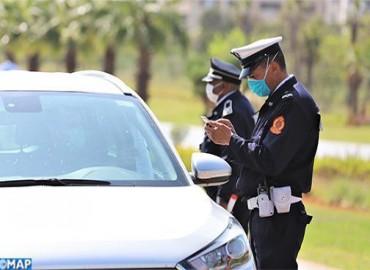 Police:Health Emergency Status: 426,072 Security Control Procedures Via Mobile Application