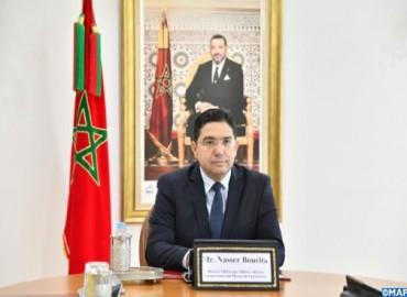 M. Bourita: Le Maroc réitère son engagement inébranlable en faveur de la paix régionale