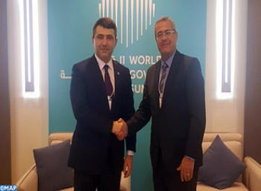 Dubai: Moroccan Official Holds Talks on Developing Human Resources & Digital Administration Systems