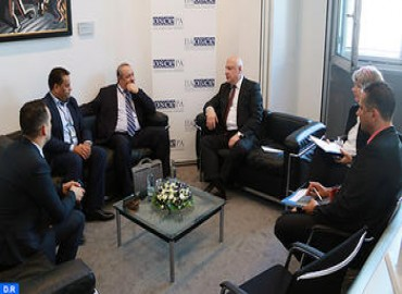 OSCE PA President Expresses Wish to Develop Partnership with Morocco