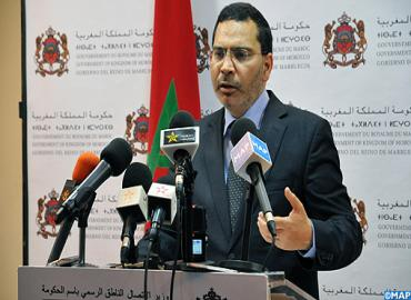 Déclaration de M. le ministre de la Communication au sujet de l'évolution des relations entre le Royaume du Maroc et l'Union européenne