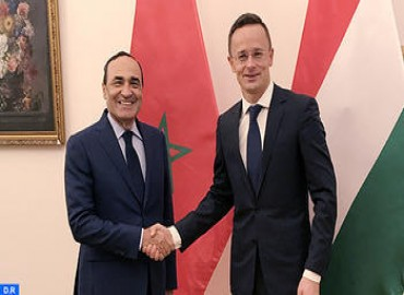 Speaker of Lower House Meets with Hungarian FM