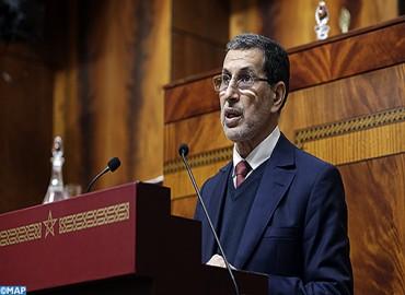 جواب رئيس الحكومة بمجلس المستشارين حول السياسات العمومية المرتبطة بمعالجة التفاوتات المجالية