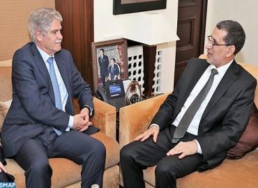 رئيس الحكومة يشيد بمستوى العلاقات الاستراتيجية بين المغرب وإسبانيا