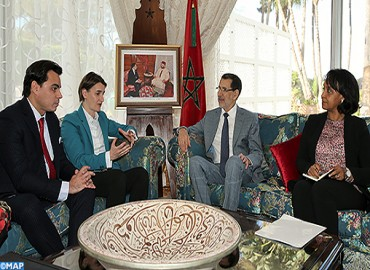 El Othmani se entrevista en Rabat con la Presidenta del Gobierno Serbio