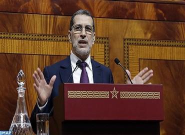 رئيس الحكومة يجيب على أسئلة النواب حول استراتيجية الحكومة في إصلاح المنظومة الوطنية للتربية والتكوين والبحث العلمي