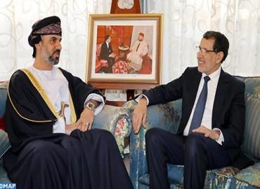 El presidente del Consejo de la Shura de Omán saluda el desarrollo registrado en Marruecos a todos los niveles