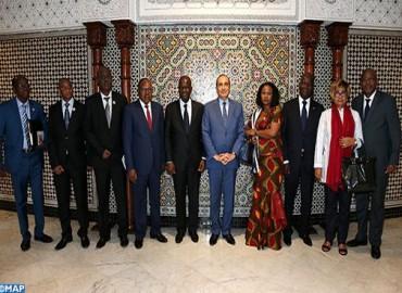 السيد المالكي ورئيس الجمعية الوطنية الإيفوارية يتفقان على إعطاء دينامية جديدة للتعاون بين المؤسستين التشريعيتين