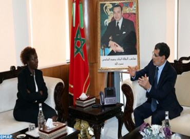 La secretaria general de la OIF celebra el papel de Marruecos por África y los africanos