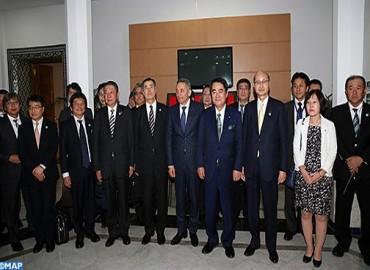 وفد ياباني في زيارة عمل إلى المغرب