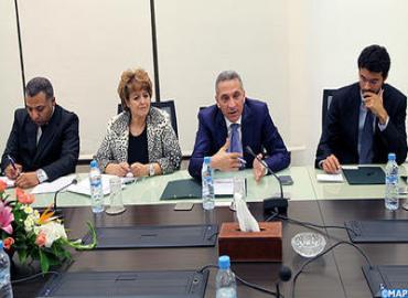 تعزيز العلاقات الاقتصادية المغربية الأمريكية محور مباحثات بين السيد العلمي وقناصلة فخريين للمملكة بالولايات المتحدة