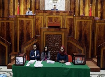 Chambre des représentants election des membres du bureau et des