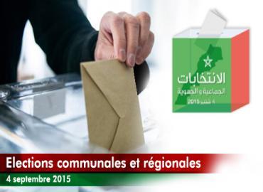 Elections communales et régionales fermeture des bureaux de