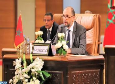 M. Jazouli: le Maroc réaffirme son attachement à mettre en œuvre l'Accord de la ZLECAF