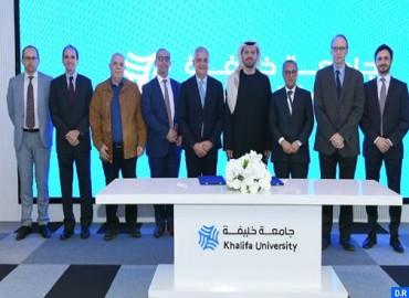 Mémorandum d'entente entre L'Agence marocaine pour l'efficacité énergétique (AMEE) et l'Université Khalifa des sciences et de la technoologie d'Abu Dhabi