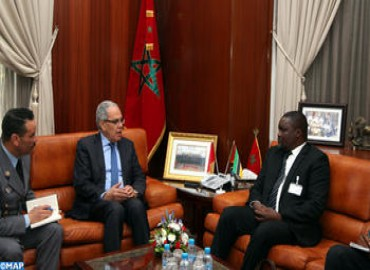 Loudyi recibe el viceministro de la Defensa Nacional de la República de Mozambique