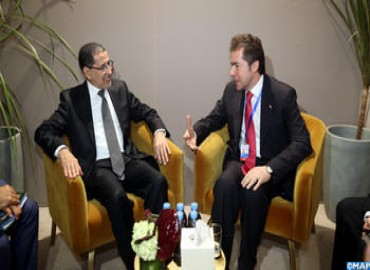 Head of Government Meets in Marrakesh with Paraguay's FM
