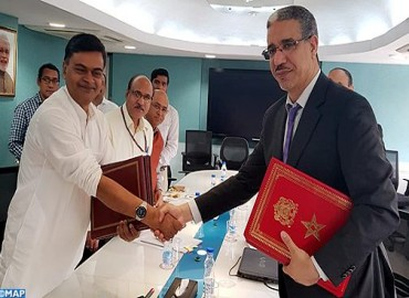 orocco, India Discuss Means to Promote Cooperation in Energy Sector