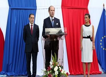 Ambassadeur de France au Maroc: la France a résolument confiance en la voie pertinente et courageuse tracée par le Maroc pour les prochaines décennies