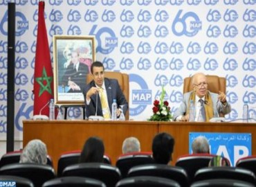 Naciri: acelerar la transición democrática está sujeto a la combinación de todos los esfuerzos, especialmente de la prensa