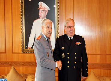 FAR Inspector General Meets Chief Of Staff Of French Navy